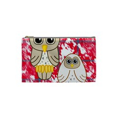 Two Owls Cosmetic Bag (small)