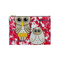 Two Owls Cosmetic Bag (medium)