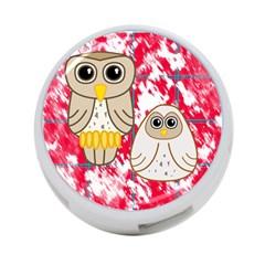 Two Owls 4-Port USB Hub (Two Sides)