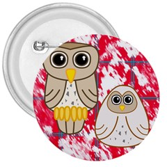 Two Owls 3  Button