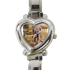 Jh Heart Italian Charm Watch
