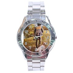 Jh Stainless Steel Watch