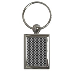 Groovy Circles Key Chain (rectangle)