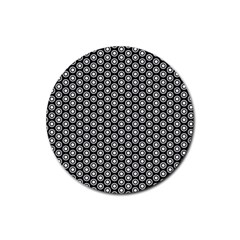 Groovy Circles Drink Coasters 4 Pack (Round)