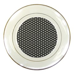 Groovy Circles Porcelain Display Plate