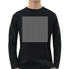 Groovy Circles Men s Long Sleeve T-shirt (Dark Colored)