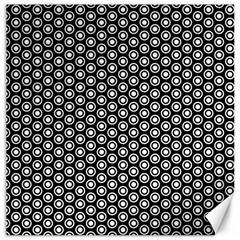 Groovy Circles Canvas 16  x 16  (Unframed)