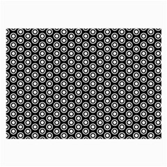 Groovy Circles Glasses Cloth (Large, Two Sided)