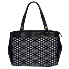 Groovy Circles Oversize Office Handbag (One Side)