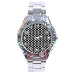Groovy Circles Stainless Steel Watch