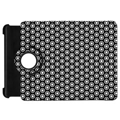 Groovy Circles Kindle Fire HD 7  (1st Gen) Flip 360 Case
