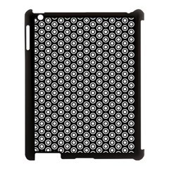 Groovy Circles Apple iPad 3/4 Case (Black)