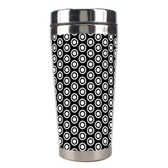 Groovy Circles Stainless Steel Travel Tumbler