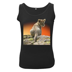 Lion King Cub Tshirt Women s Tank Top (black)