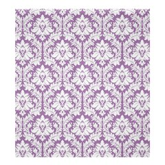 Lilac Damask Pattern Shower Curtain 66  x 72  (Large)