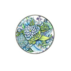 Peaceful Flower Garden Golf Ball Marker (for Hat Clip)