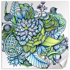 Peaceful Flower Garden Canvas 20  x 20  (Unframed)