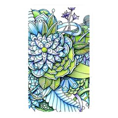Peaceful Flower Garden Memory Card Reader (rectangular)