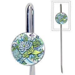 Peaceful Flower Garden Bookmark