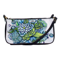 Peaceful Flower Garden Evening Bag