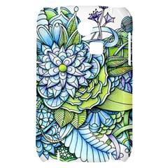 Peaceful Flower Garden Samsung S3350 Hardshell Case