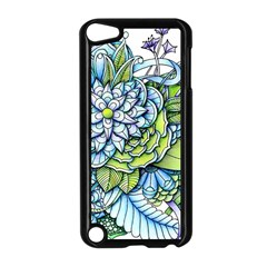 Peaceful Flower Garden Apple iPod Touch 5 Case (Black)