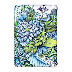 Peaceful Flower Garden Apple iPad Mini Hardshell Case (Compatible with Smart Cover)