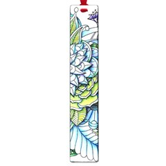 Peaceful Flower Garden Large Bookmark
