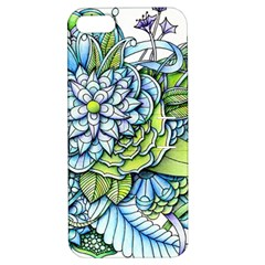 Peaceful Flower Garden Apple iPhone 5 Hardshell Case with Stand