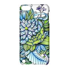 Peaceful Flower Garden Apple iPod Touch 5 Hardshell Case with Stand
