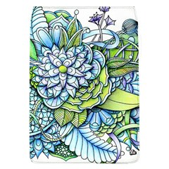 Peaceful Flower Garden Removable Flap Cover (Large)