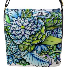 Peaceful Flower Garden Removable Flap Cover (Small)
