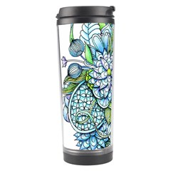 Peaceful Flower Garden Travel Tumbler