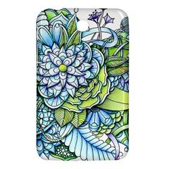 Peaceful Flower Garden Samsung Galaxy Tab 3 (7 ) P3200 Hardshell Case