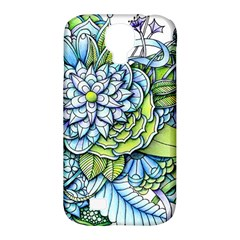 Peaceful Flower Garden Samsung Galaxy S4 Classic Hardshell Case (PC+Silicone)