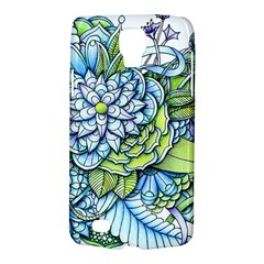 Peaceful Flower Garden Samsung Galaxy S4 Active (I9295) Hardshell Case