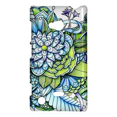 Peaceful Flower Garden Nokia Lumia 720 Hardshell Case
