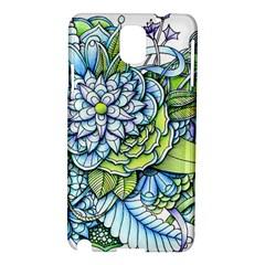Peaceful Flower Garden Samsung Galaxy Note 3 N9005 Hardshell Case