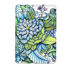 Peaceful Flower Garden Samsung Galaxy Tab 2 (10.1 ) P5100 Hardshell Case