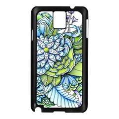 Peaceful Flower Garden Samsung Galaxy Note 3 N9005 Case (Black)