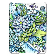 Peaceful Flower Garden Apple iPad Air Hardshell Case