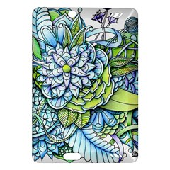 Peaceful Flower Garden Kindle Fire HD 7  (2nd Gen) Hardshell Case