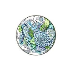 Peaceful Flower Garden 2 Golf Ball Marker 10 Pack (for Hat Clip)