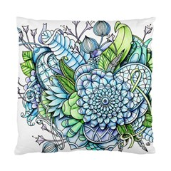 Peaceful Flower Garden 2 Cushion Case (two Sided)