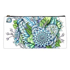 Peaceful Flower Garden 2 Pencil Case