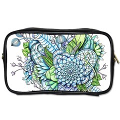 Peaceful Flower Garden 2 Travel Toiletry Bag (one Side)