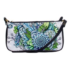 Peaceful Flower Garden 2 Evening Bag