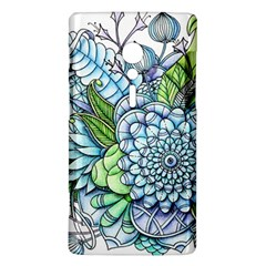 Peaceful Flower Garden 2 Sony Xperia ion Hardshell Case