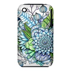 Peaceful Flower Garden 2 Apple Iphone 3g/3gs Hardshell Case (pc+silicone)