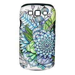 Peaceful Flower Garden 2 Samsung Galaxy S III Classic Hardshell Case (PC+Silicone)